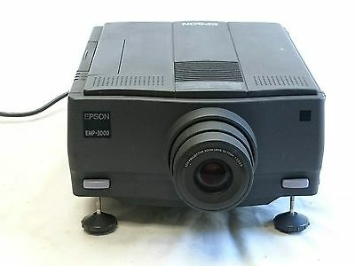 Epson EMP-3000 Projector 640x480 4:3 Working Well