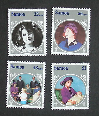 Samoa 1985 Queen Mother's 85th Birthday SG700/3 MNH UM unmounted mint x