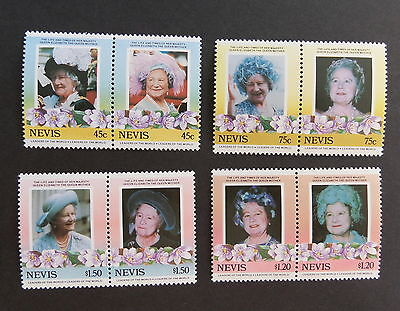 Nevis 1985 Queen Mother's 85th Birthday MNH UM unmounted mint never hinged