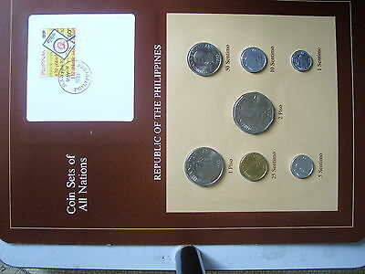 Coin Sets of all Nations Philippines Coin set 1983 - 1984