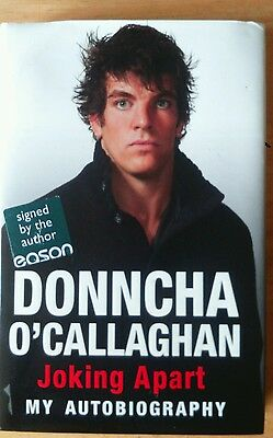 Donncha O'Callaghan SIGNED Joking Apart HB Rugby Munster Ireland
