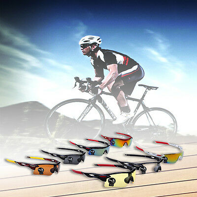 New Cycling Bike Riding Sunglasses Eyewear Outdoor Sports Glasses Goggle CU