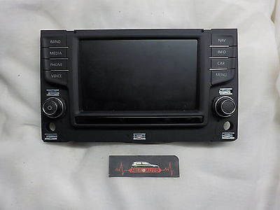 vw volkswagen golf  MK7 15-16 control unit radio navigation screen 5gm919605
