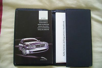 Jaguar x-type 2001 -2007 owners manuals and wallet. Pristine.