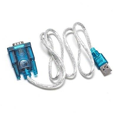 USB 2.0 TO SERIAL RS232 DB9 9 PIN ADAPTER CABLE PDA cord GPS CONVERTER CU