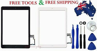 Digitizer Touch Screen Glass Replacement For Apple iPad Air 1 2 3 4 5 Mini 3 2 1