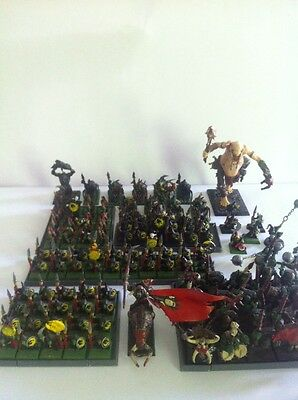 Warhammer Fantasy Age Of Sigmar Orcs & Goblins Army Games Workshop Models Giant