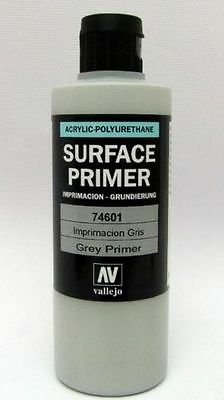 Vallejo Surface Primer grey/grau 200ml (100ml=6,25€) Grundierung 74.601 *NEU*