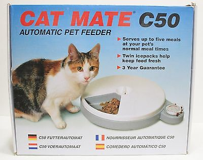 ANI MATE - Cat Mate C50 Automatic Pet Feeder