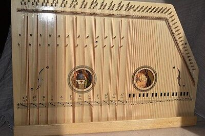 Magnificent Monastery Church Zither Music Instrument