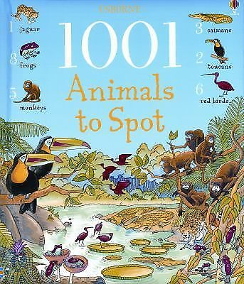 1001 Animals to Spot ~ Usborne book 527044 ~ hardcover, NEW!