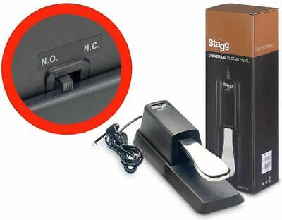 """STAGG SUSPED-10, Sustain Switch with """"polarity"""" switch"""