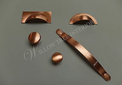 Monmouth 38mm Knob - Brushed Copper - Chrome - Iron - Nickel