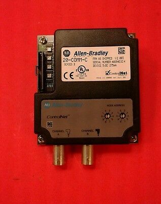 Allen Bradley 20-COMM-C /B PowerFlex ControlNet / DPI Communication Adapter  3B