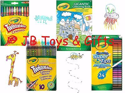 Crayola Bundle Pack D Colouring Pencils Markers Crayons Book Children's