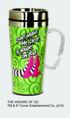 The Wizard of OZ Drop a House 15 oz Acrylic Insulated Stainless Steel Travel Mug