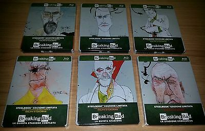 Blu Ray Breaking Bad Steelbook Collezione Completa Sigillata