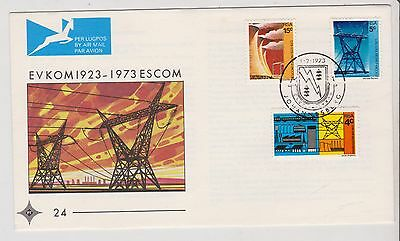 South Africa  - First Day Cover - ESCOM 1973 - G42