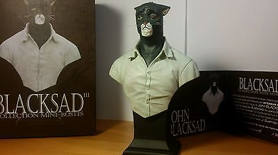 Buste de collection Attakus Blacksad John Blacksad Gueule cassée V3
