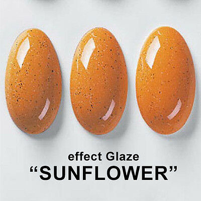 "Effect Ceramic Glaze ""SUNFLOWER"" Pottery Porcelain Ceramics Earthenware #cer"