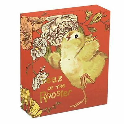 2017 Baby Rooster 1/2 oz Silver Proof Coin