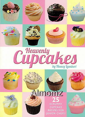 """*NEW* Heavenly Cupcakes Cook Book """"Cupcake Recipes for Children"""" Free Shipping"""