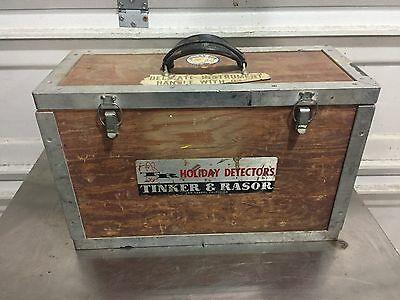 Tinker And Razor Model AP/W Holiday Detector