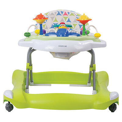 Steelcraft Jetta Baby Walker - Green Chartreuse - NEW