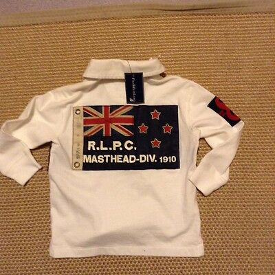 Genuine Baby Boy's, Ralph Lauren Long Sleeved Polo Shirt - 18 months -2 years