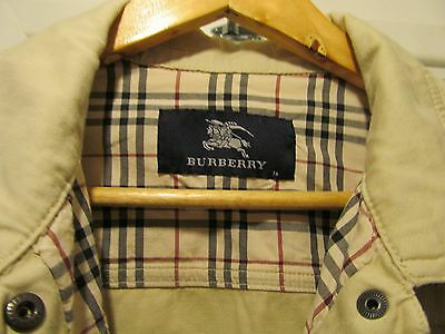 Burberry Girls Jacket Beige Size Age 14 Very Good Condition ... LOW POST To UK