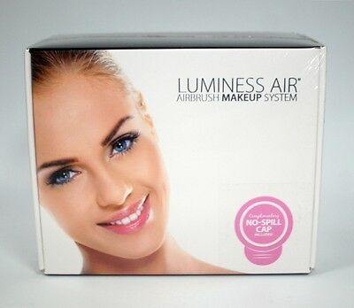 New - Luminess Air Airbrush Makeup System - White/Black - Free Shipping