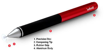Adonit Jot Pro Fine Point Stylus for Touch Screen devices: RED