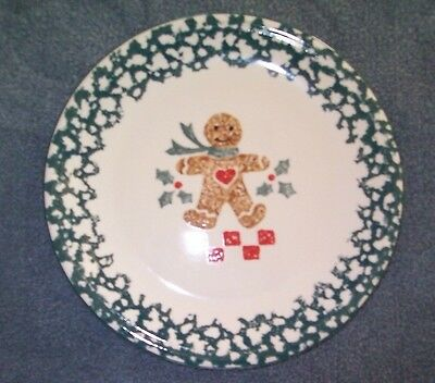 4 Tienshan Folkcraft Gingerbread Dinner Plates Many More Available
