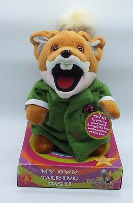 BASIL BRUSH Soft Toy 2003 with Tags 24 cm Tall  Excellent clean condition unused