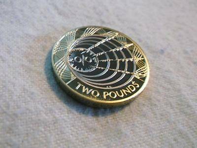 Great Britain 2 Pounds 2001 Proof Uhc Marconi A1760