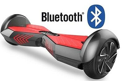 Hoverboard Scooter elettrico 2 ruote 700W bluetooth 8 pollici