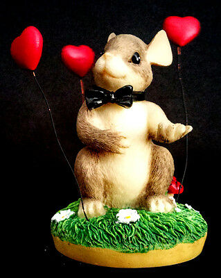 Charming Tails collectible figurine My Hearts All Flutter-Groom 82/101 Valentine