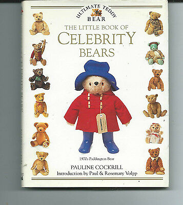 The Little Book Of Celebrity Bears By Pauline Cockrill