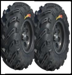 GBC Dirt Devil A//t 22-8.00-10 6 Ply ATV Tire AR1028