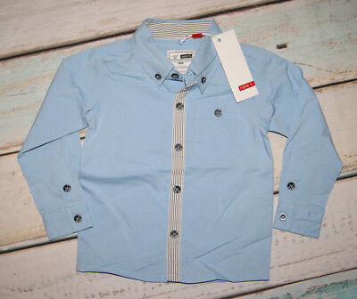 Name It BNWT Boys Smart Long Sleeved Blue Shirt Size 12-18 Months