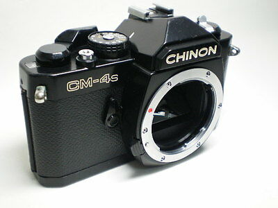 Vintage Mechanical Chinon CM-4S Body Working Perfect for Students Pentax K mount