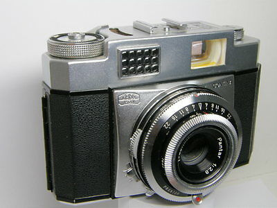 Vintage Zeiss Ikon Contina w/ Pantar 1:2.8  f=45mm  2.8/45  45/2.8 Germany