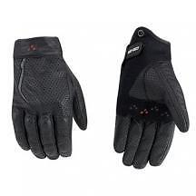 Can-Am Mens Motorcycle Vented Leather Gloves Black Size X-Large 4461781290