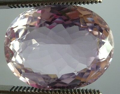 wow huge 30 cts Pink kunzite oval cut Flawless for Ring/Pendent 23X18X10 mm NR$