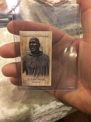 2016 Goodwin Champions Michael Jordan Mini Old Judge 2/8 - Super Rare!!!
