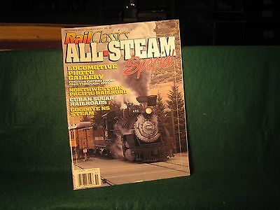 Rail Classics Santa fe Southern Southern Pacific PRR & other steam Locomotives