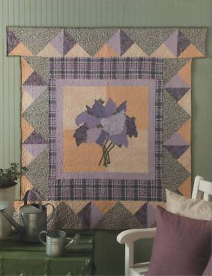 Quilting Pattern Book Prettier Than A Picture  Wall Hangings 7 Quilt Designs