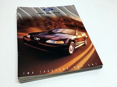 2001 Ford Mustang GT Coupe Convertible Brochure