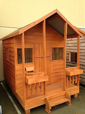 THE Elwood Solid Timber Cubby House by Bear Cubbies MADE IN MELBOURNE