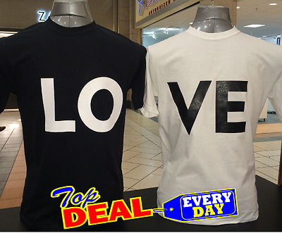 Couple Matching Love T shirts His and Hers Valentine's Day Gift